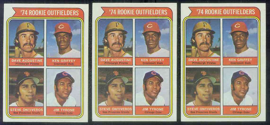 1974 Topps #598 Ken Griffey ROOKIE (Reds) Baseball cards value