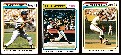 1974 Topps  - COMPLETE (10) card A's vs Mets WORLD SERIES/Playoffs subset