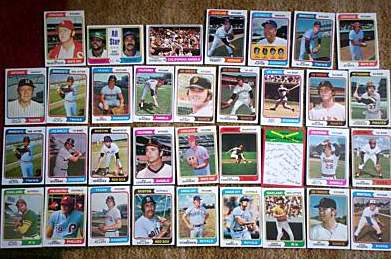 1974 Topps - Lot (300) diff. with Team cards,Minor Stars,Regional Stars !! Baseball cards value