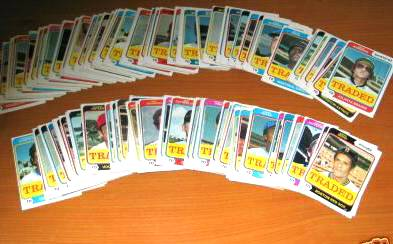 1974 Topps Traded - Lot of (200) assorted with Minor & Regional Stars Baseball cards value