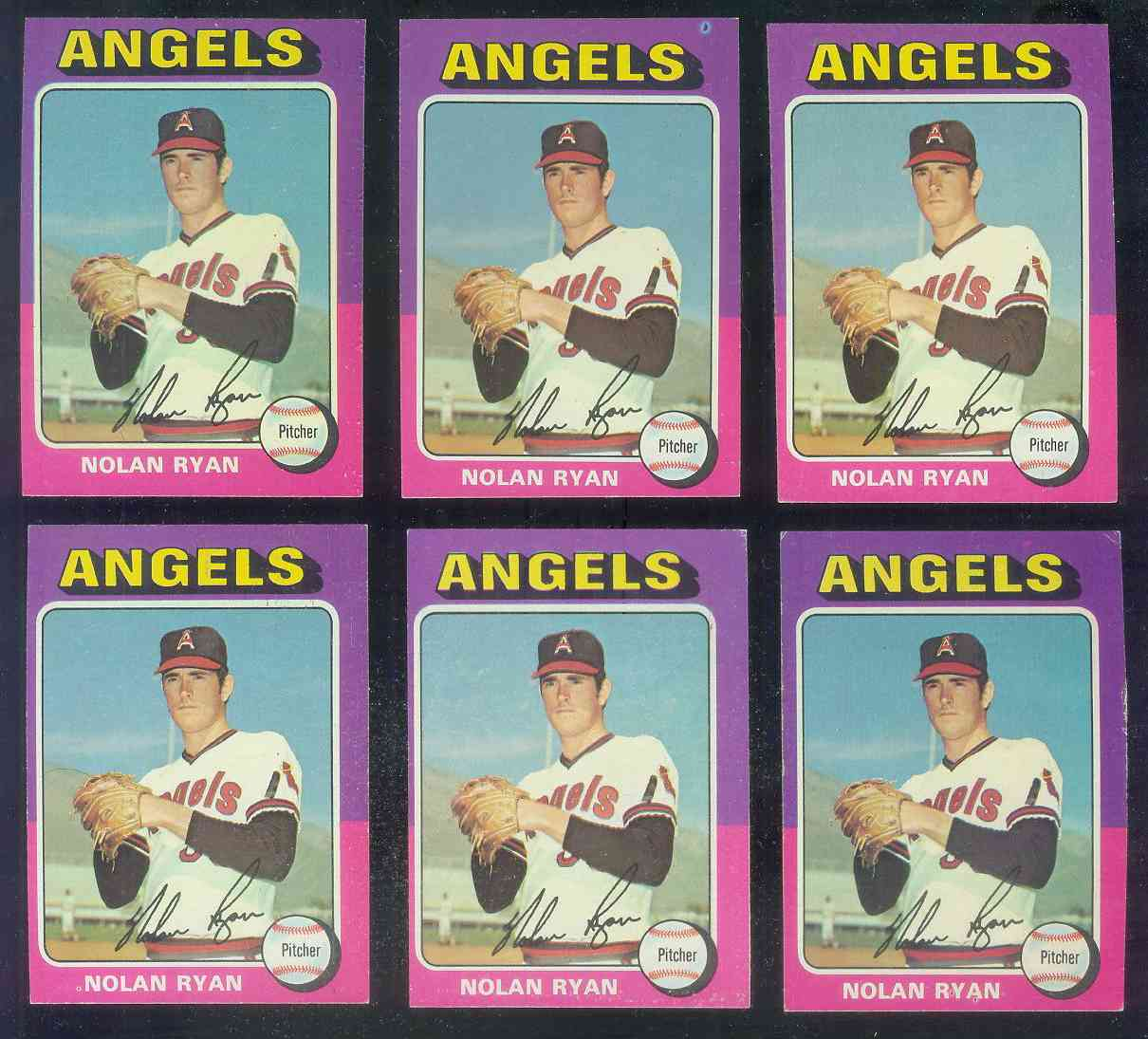 1975 Topps #500 Nolan Ryan [#b] (Angels) Baseball cards value