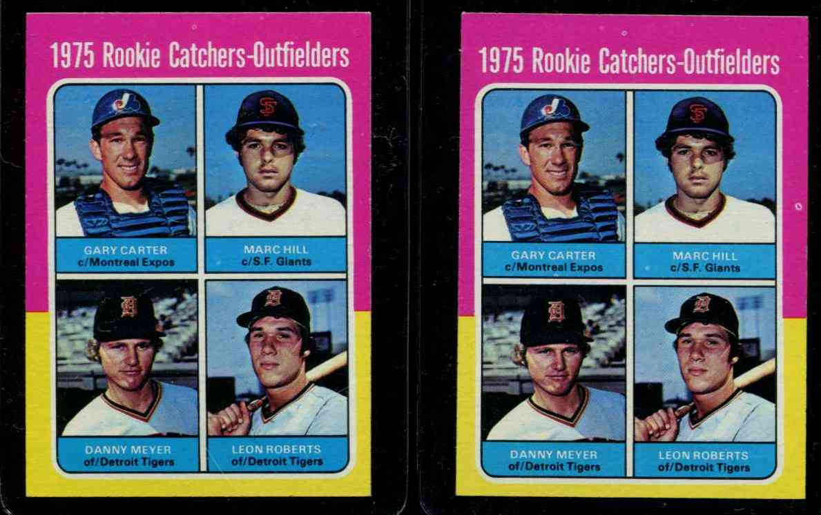1975 Topps #620 Gary Carter ROOKIE [#a] (Expos) Baseball cards value