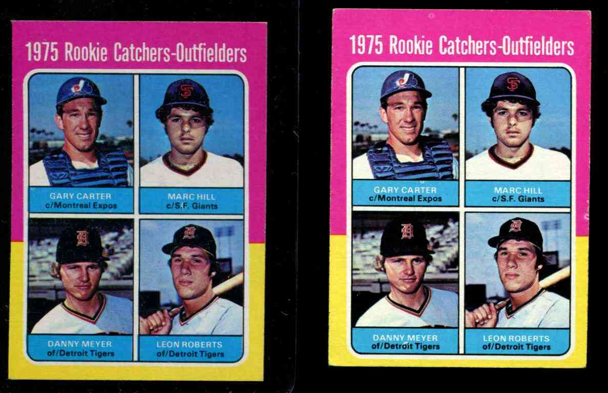 1975 Topps #620 Gary Carter ROOKIE [#c] (Expos) Baseball cards value