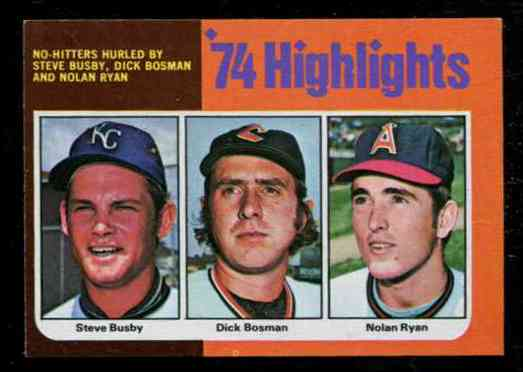 1975 Topps MINI #..7 Nolan Ryan '74 Highlights (Angels) Baseball cards value