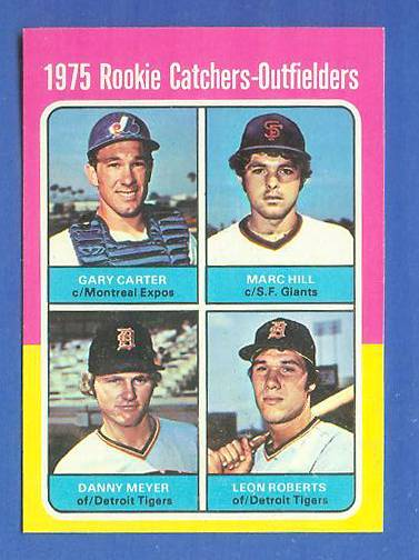 1975 Topps MINI #620 Gary Carter ROOKIE [#a] (Expos) Baseball cards value