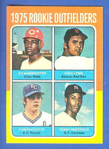 1975 Topps MINI #622 Fred Lynn ROOKIE [#c] (Red Sox) Baseball cards value