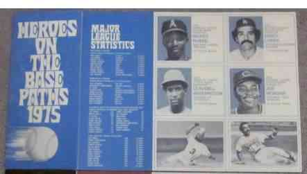 1975 Greyhound Awards -  Lot of (10) Complete booklets with (6) cards each Baseball cards value