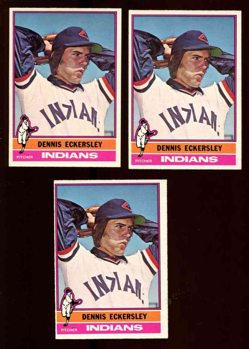 1976 O Pee Cheeopc 98 Dennis Eckersley Rookie B Indians