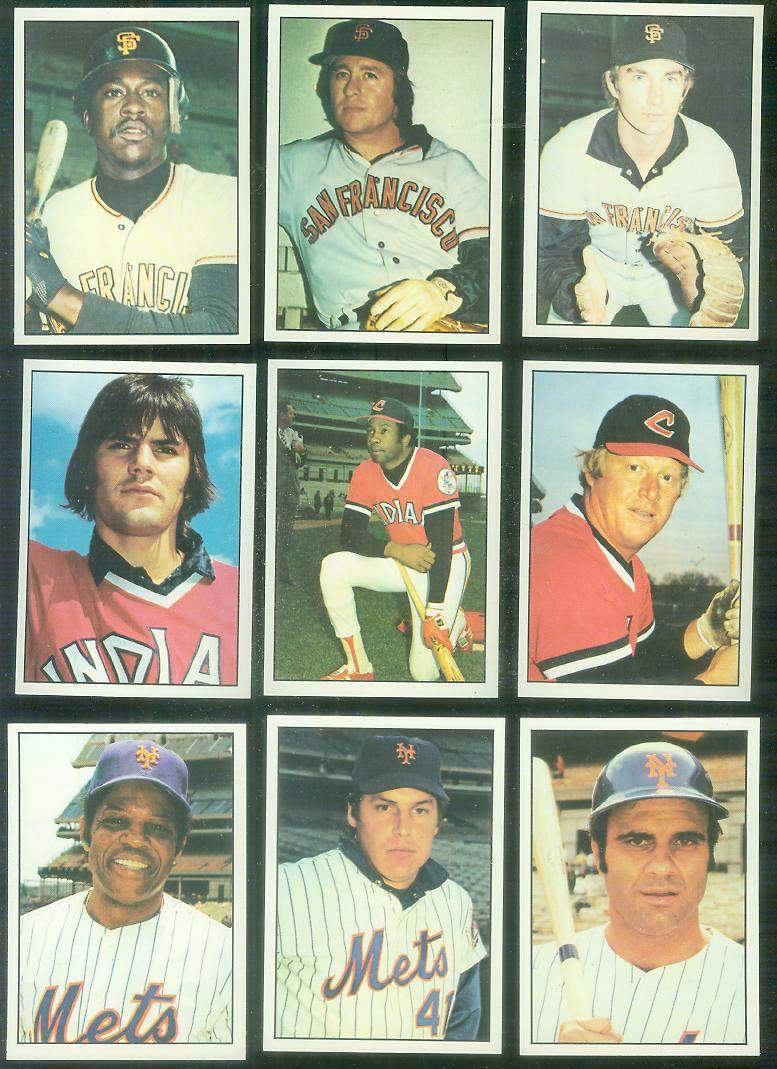1975 SSPC  - Indians COMPLETE TEAM SET (31) Baseball cards value