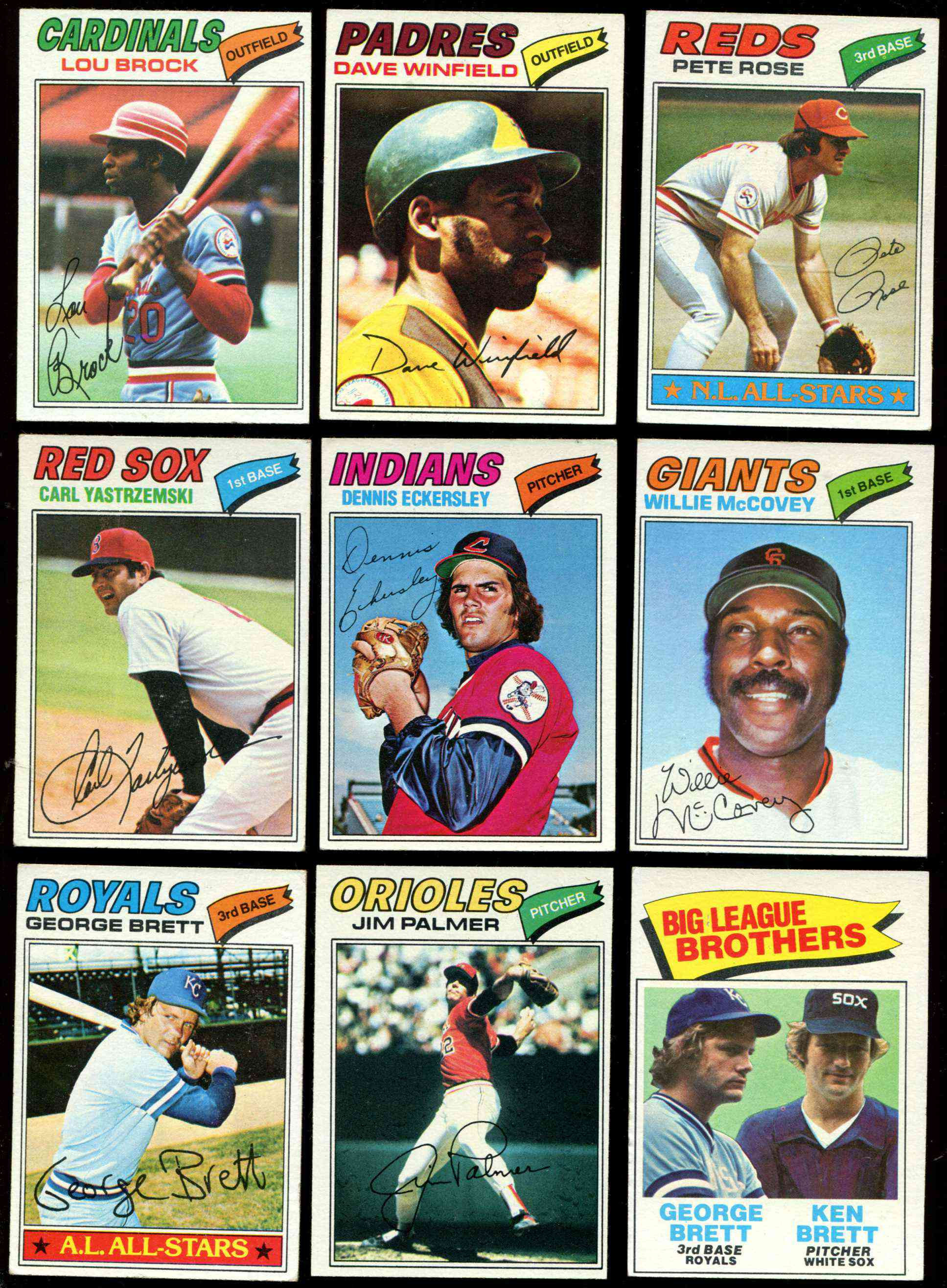 1977 Topps Baseball Cards Set Checklist Prices Values