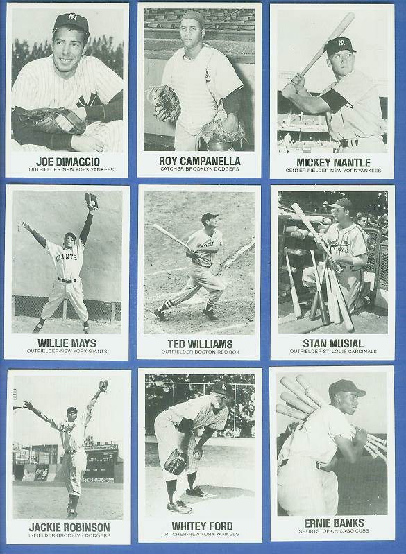 1977-84 Galasso Glossy Greats #..7 Mickey Mantle (TCMA) Baseball cards value