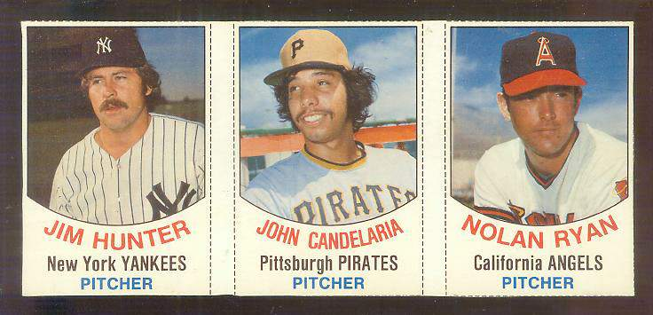 1977 Hostess PANEL #.79-80-81  - NOLAN RYAN / Catfish Hunter ... Baseball cards value