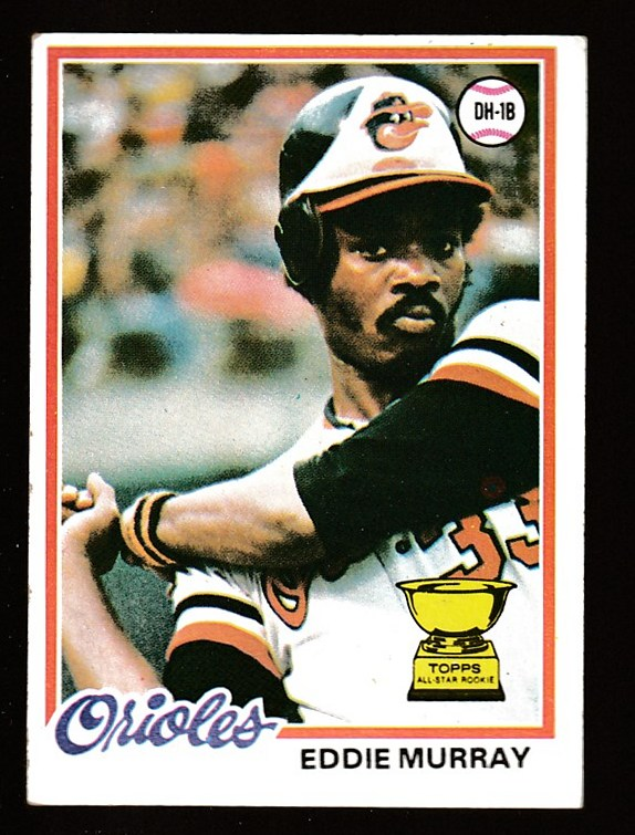 1978 Topps # 36 Eddie Murray ROOKIE [#c] (Orioles) Baseball cards value