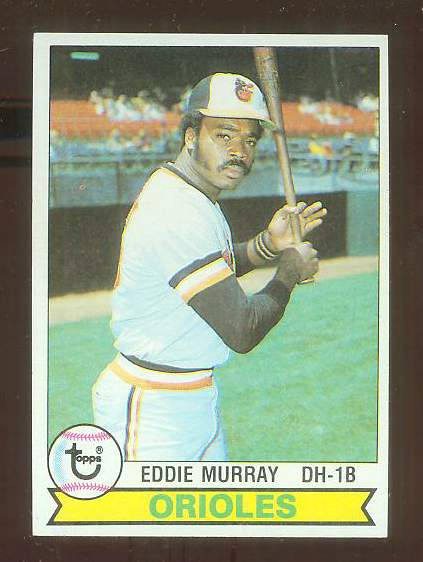 1979 Topps #640 Eddie Murray (Orioles HALL-of-FAMER 2nd year card) Baseball cards value