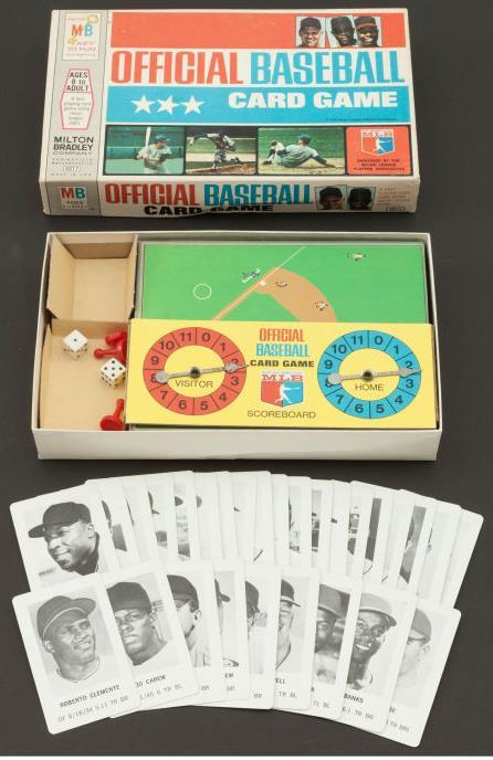 1970 Milton Bradley  - COMPLETE SET of (28) IN ORIGINAL BOX w/BOARD Baseball cards value