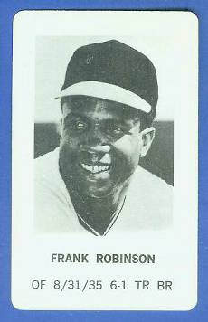 1970 Milton Bradley - Frank Robinson Baseball cards value