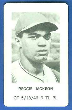 1970 Milton Bradley - Reggie Jackson Baseball cards value