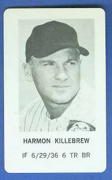 1970 Milton Bradley - Harmon Killebrew Baseball cards value