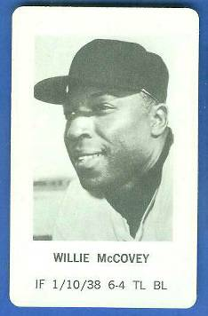 1970 Milton Bradley - Willie McCovey Baseball cards value