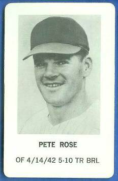 1970 Milton Bradley - Pete Rose Baseball cards value