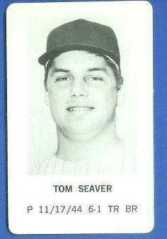1970 Milton Bradley - Tom Seaver Baseball cards value