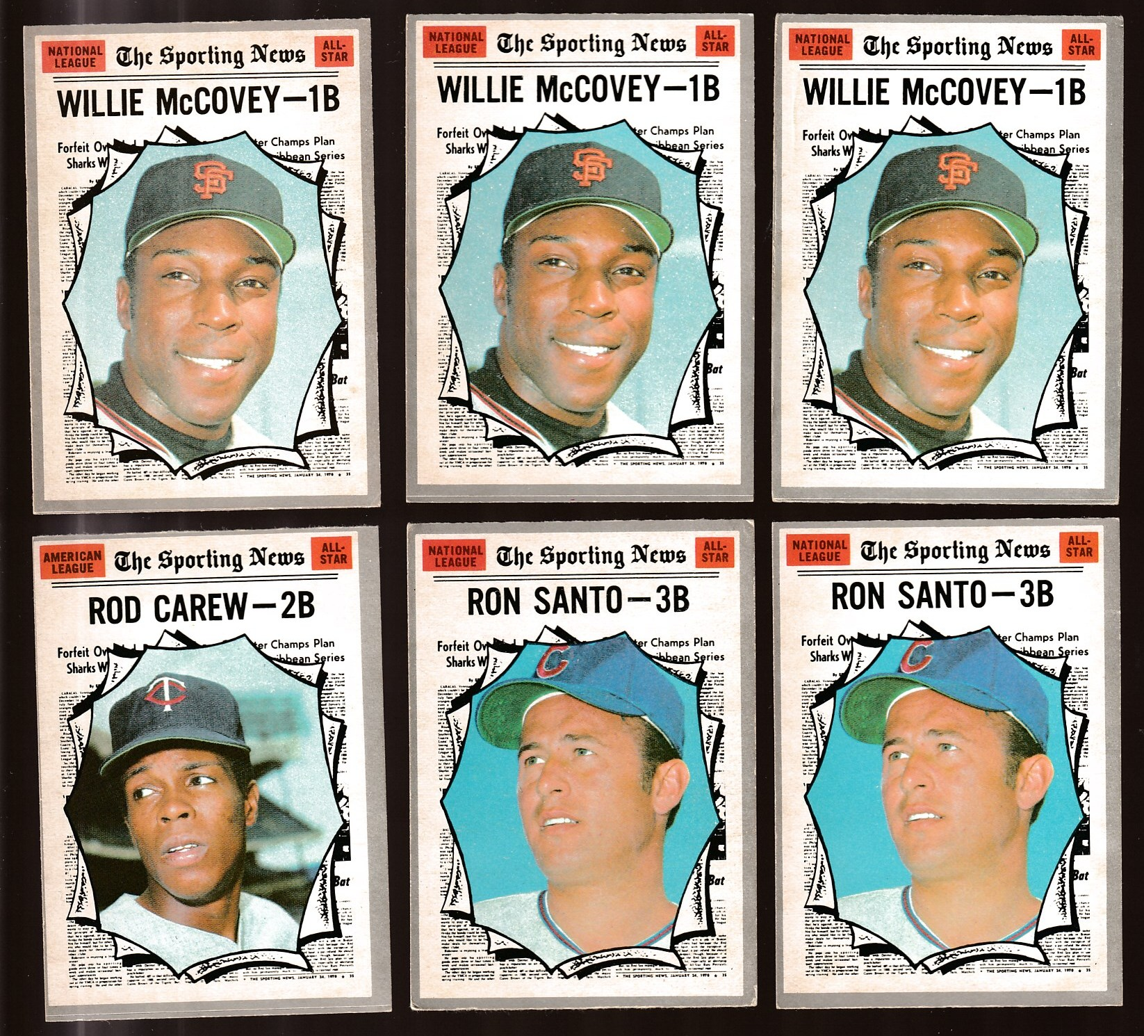 1970 O-Pee-Chee/OPC #450 Willie McCovey All-Star (Giants) Baseball cards value
