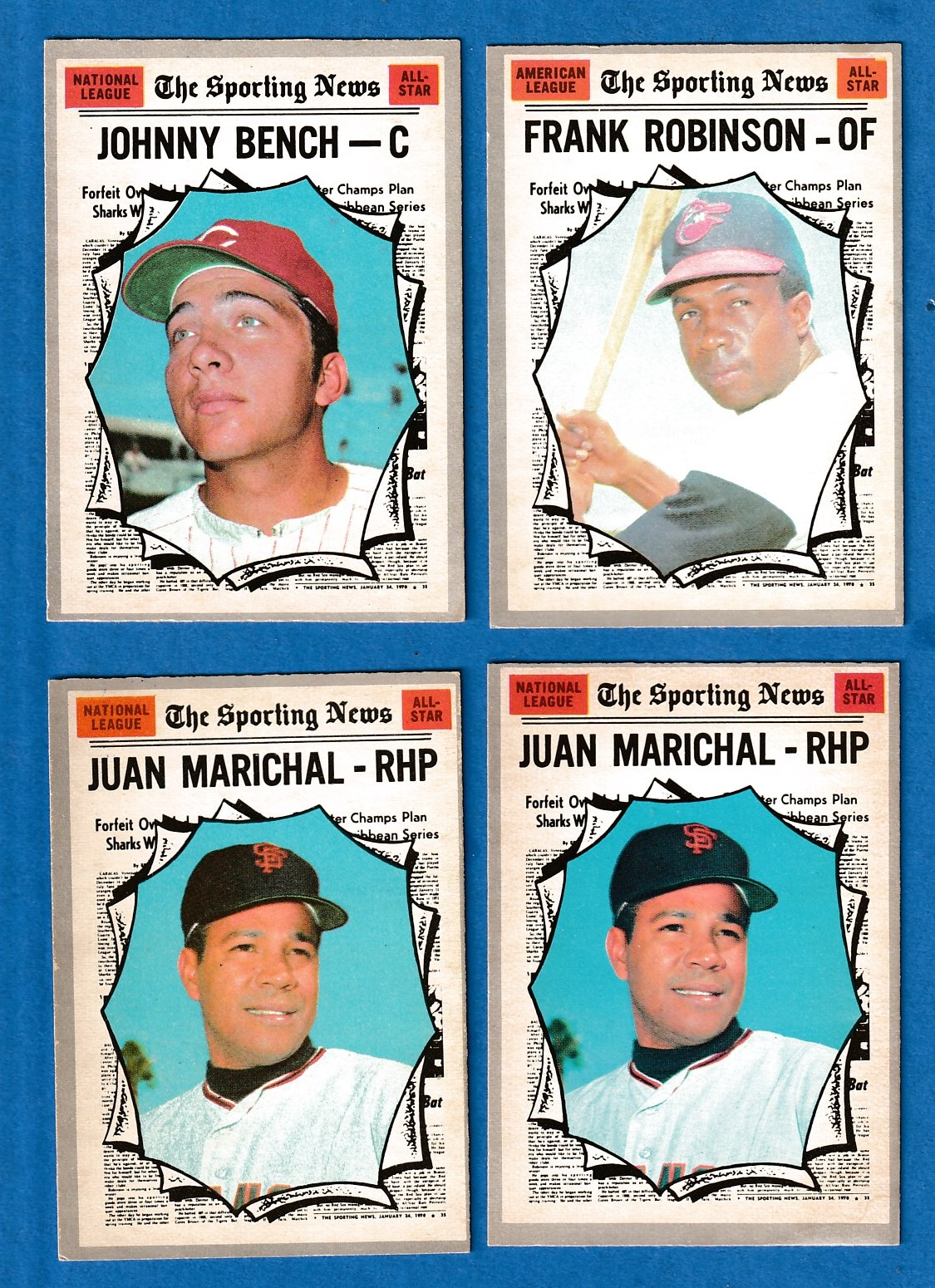 1970 O-Pee-Chee/OPC #466 Juan Marichal All-Star (Giants) Baseball cards value