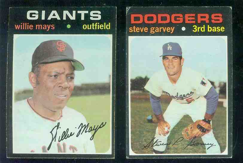 1971 Topps #341 Steve Garvey ROOKIE (Dodgers) Baseball cards value