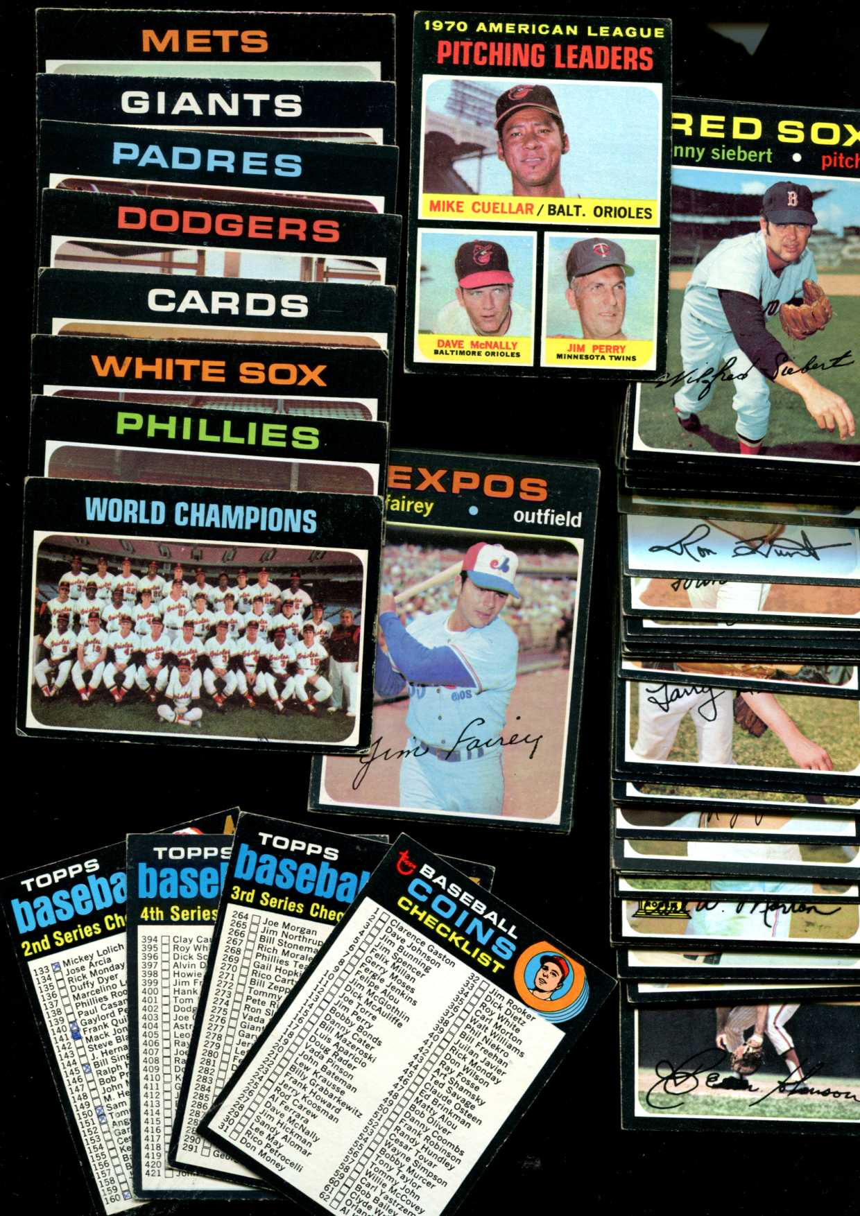 1971 Topps  - Bulk Lot of (750) assorted with around 200 to 250 different Baseball cards value