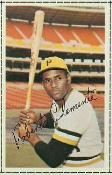 Roberto Clemente - 1971 Dell MLB Stamp [regular] (Pirates) Baseball cards value