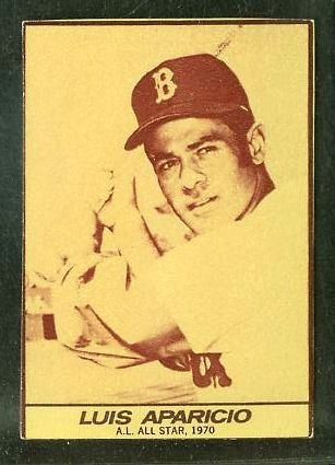 1971 Milk Duds - Luis Aparicio (Red Sox) Baseball cards value