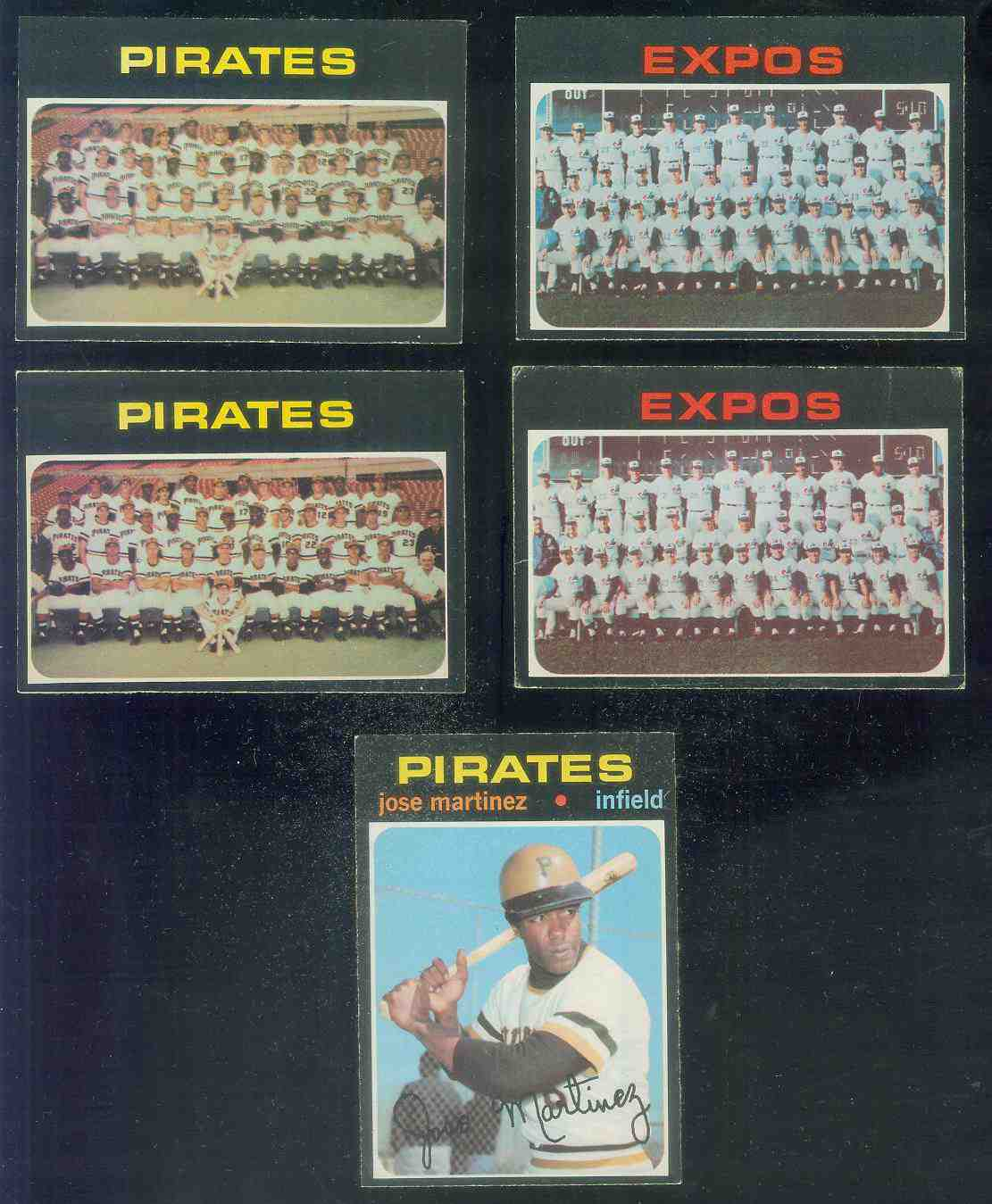 1971 O-Pee-Chee/OPC #603 Pirates TEAM card SCARCE SEMI-HI# Baseball cards value