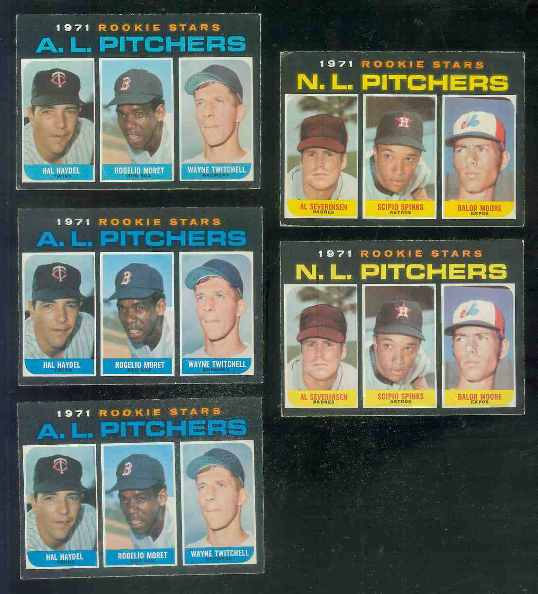1971 O-Pee-Chee/OPC #747 N.L. ROOKIE Pitchers SCARCE HIGH #.. Baseball cards value