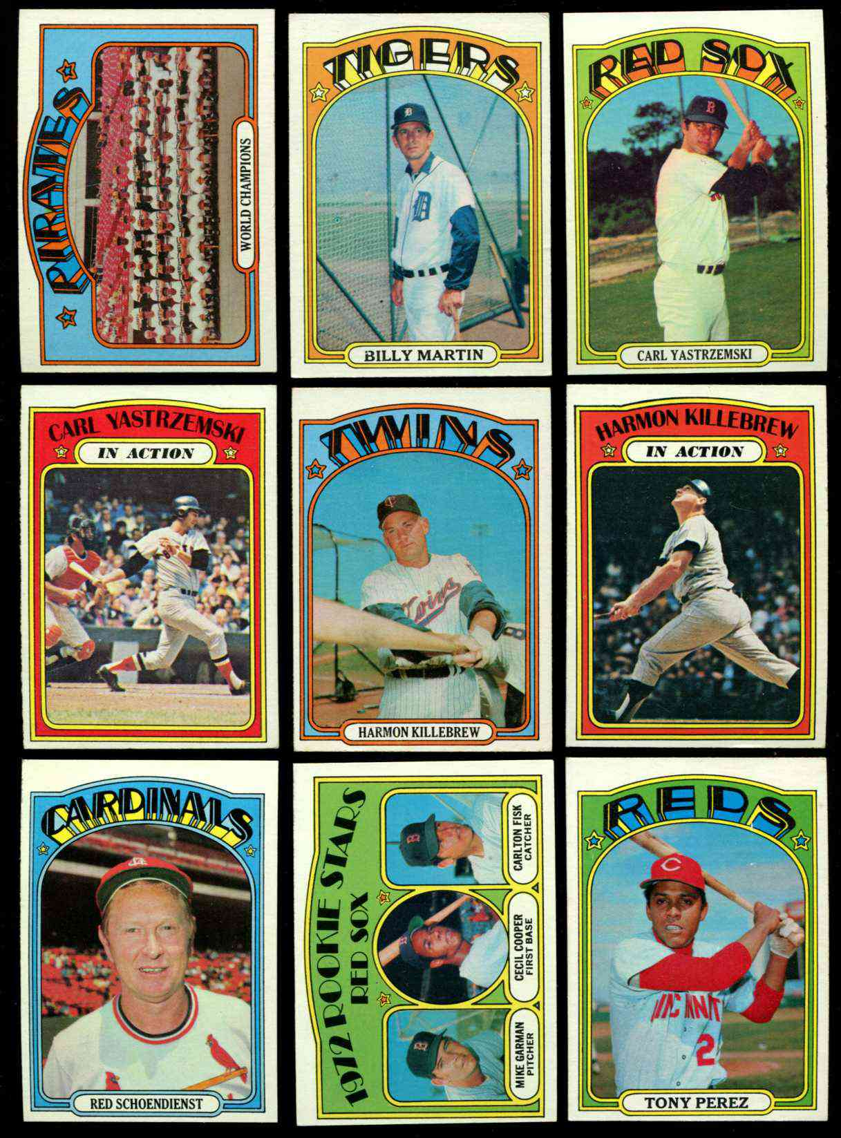 1972 Topps #.79 Carlton Fisk ROOKIE [#x] (Red Sox) Baseball cards value