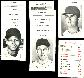 Red Sox - 1972 Milton Bradley TEAM LOT (13 cards)