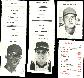 Senators - 1972 Milton Bradley TEAM LOT (15 cards)