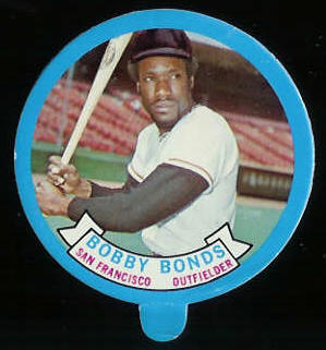 1973 Topps Candy Lid - BOBBY BONDS (Giants) Baseball cards value