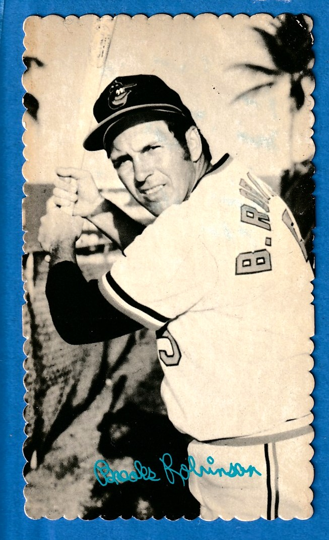 1974 Topps DECKLE #25 Brooks Robinson Baseball cards value