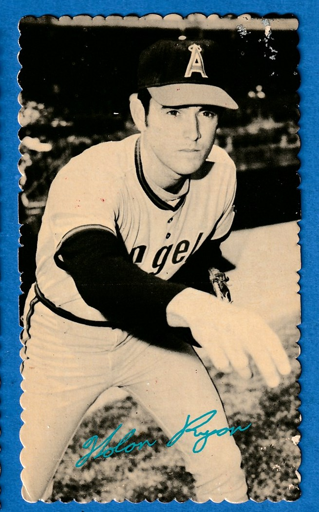1974 Topps DECKLE #41 Nolan Ryan Baseball cards value