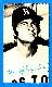 1974 Topps DECKLE #43 Carl Yastrzemski
