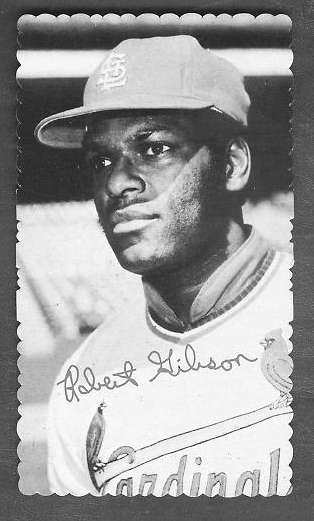1974 Topps DECKLE EDGE #.3 Bob Gibson (Cardinals) Baseball cards value