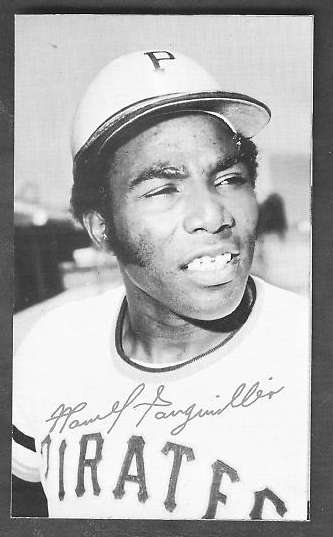 1974 Topps DECKLE EDGE UN-DECKLED PROOF #.0 Manny Sanguillen (Pirat Baseball cards value