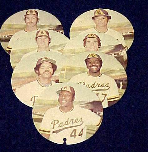 1974 McDonald's Padres -  Lot of (7) Different Discs with WILLIE McCOVEY Baseball cards value