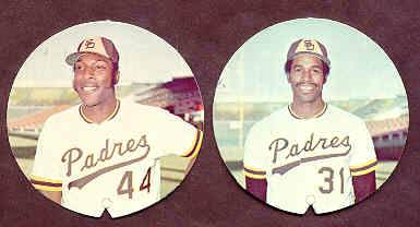 1974 McDonald's Padres - DAVE WINFIELD ROOKIE disc (HALL-of-FAMER) Baseball cards value