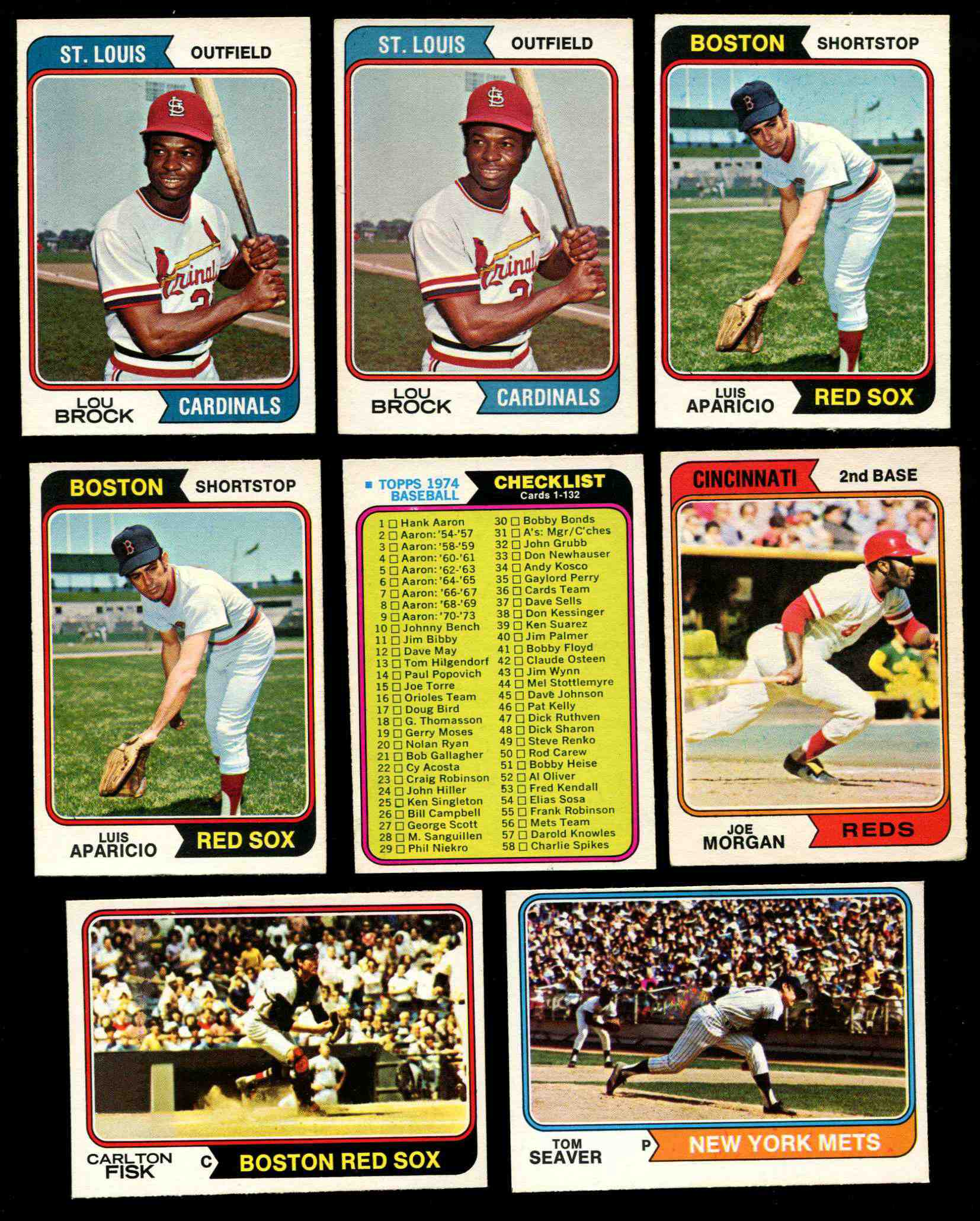 1974 O-Pee-Chee/OPC #.60 Lou Brock (Cardinals) Baseball cards value