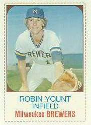 1975 Hostess # 80 Robin Yount ROOKIE SHORT PRINT Baseball cards value