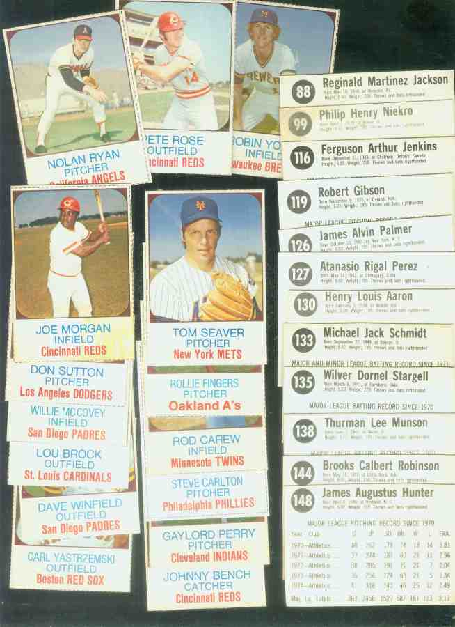 1975 Hostess  - NEAR SET of (142/150, missing only 8 cards) Baseball cards value