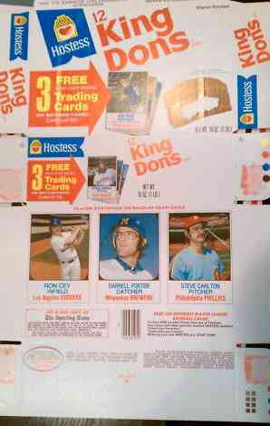 1975 Hostess COMPLETE BOX #.61-62-63 Steve Carlton Baseball cards value