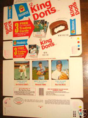 1975 Hostess COMPLETE BOX #.76-77-78 Nate Colbert/Don Kessinger Baseball cards value