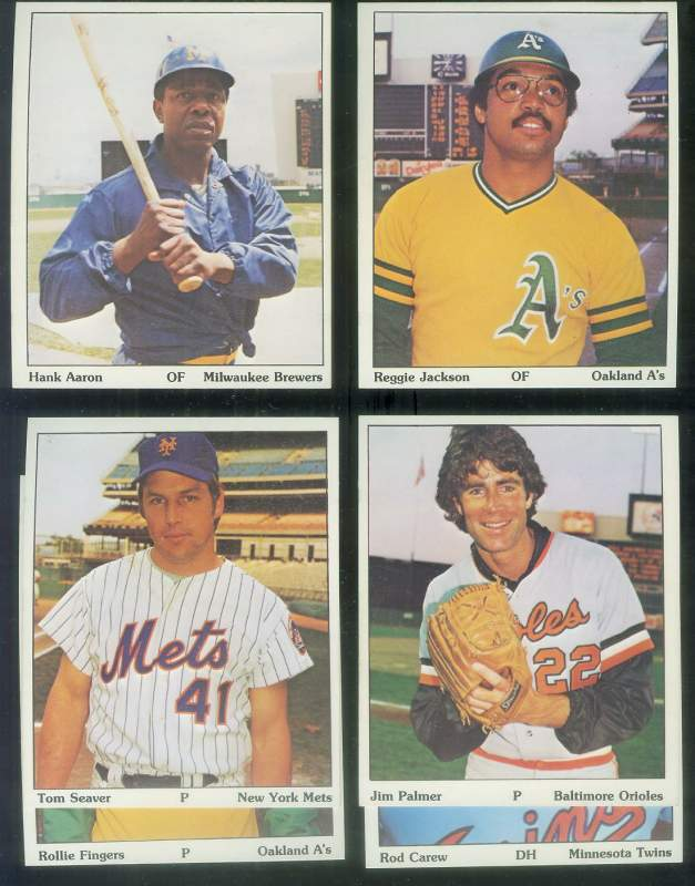 1975 SSPC Puzzle Backs - Lot of (6) HALL-OF-FAMERS !!! Baseball cards value